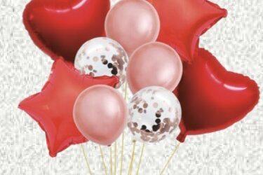 Conjunto de Balões – Dia dos Namorados